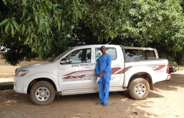 Op pad voor brandpreventie en brandwondenzorg (Nigeria)