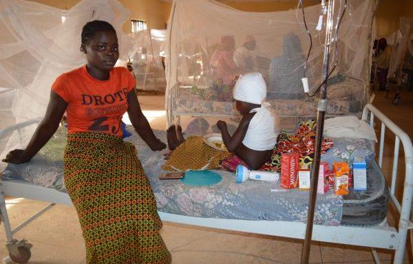 In de ziekenzaal (Nigeria)
